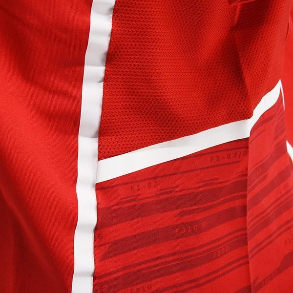 スクーデリア フェラーリ 2017ティームスタッフ用ジップアップポロシャツ-Ferrari 70thロゴタイプ-|itazatsu|07