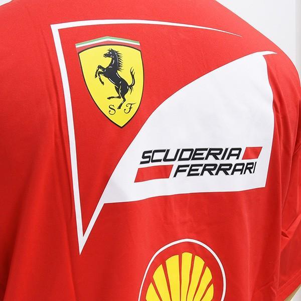 スクーデリア フェラーリ 2017ティームスタッフ用ジップアップポロシャツ-Ferrari 70thロゴタイプ-|itazatsu|08
