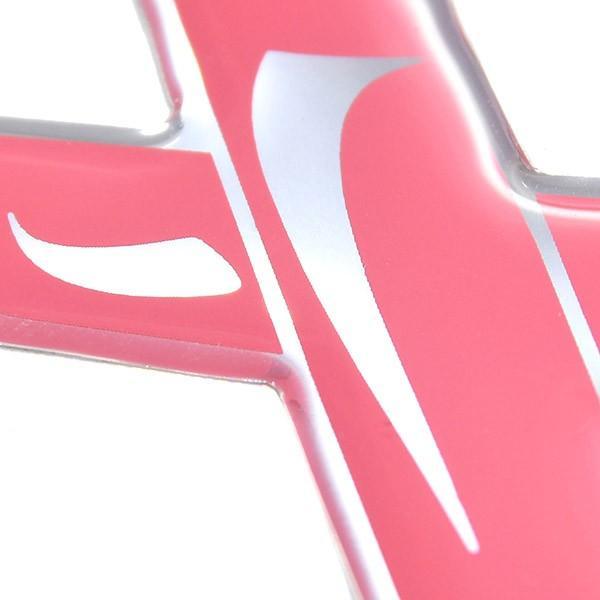 ランチア純正 Ypsilon Pink Is Good 3Dステッカー|itazatsu|06