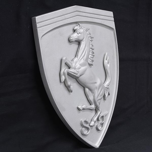 スクーデリア フェラーリ エンブレムアルミオブジェ-SFファクトリー用-|itazatsu|02