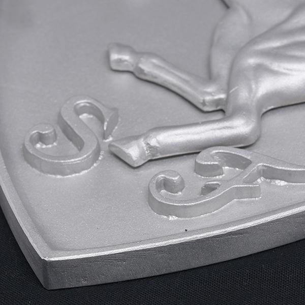 スクーデリア フェラーリ エンブレムアルミオブジェ-SFファクトリー用-|itazatsu|06