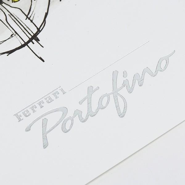 フェラーリ純正 Portofino VIPゲスト用リトグラフ|itazatsu|06
