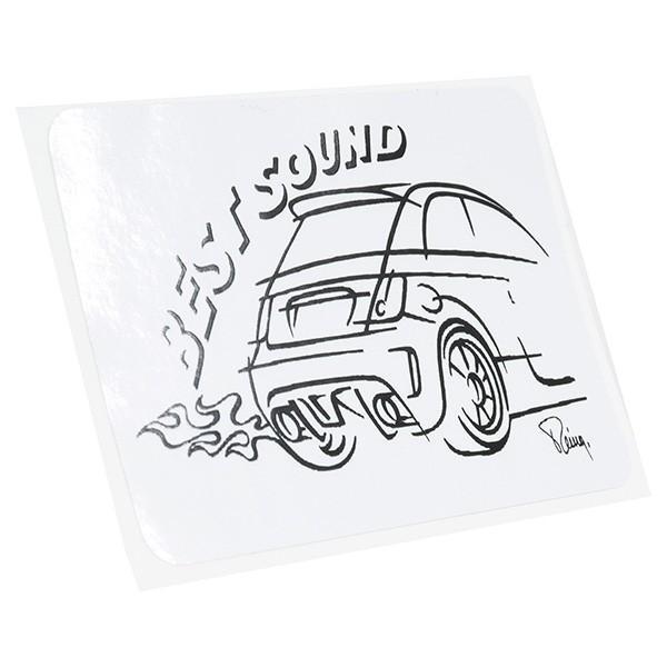 アバルトイラストステッカー(Best Sound)|itazatsu|02