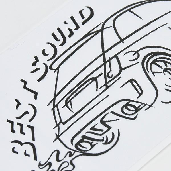 アバルトイラストステッカー(Best Sound)|itazatsu|03