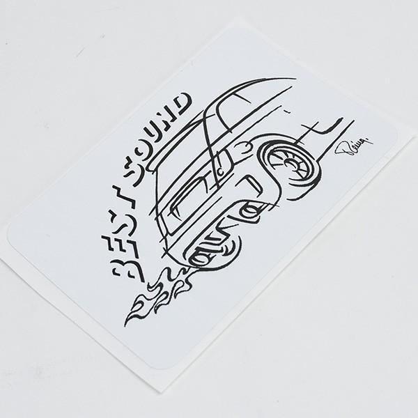 アバルトイラストステッカー(Best Sound)|itazatsu|04