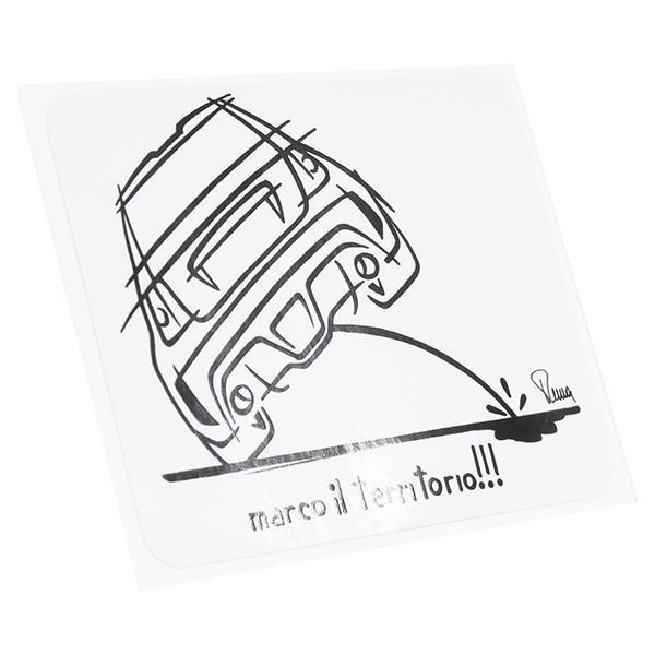 アバルトイラストステッカー(Oil Marking)|itazatsu|02