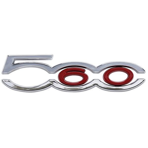 フィアット純正 500 60th Limited Edition Bピラーロゴエンブレム左右セット|itazatsu