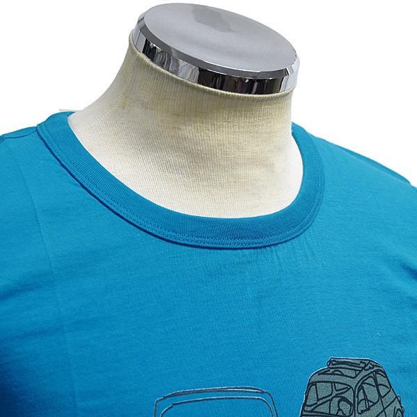 フィアット純正 Nuova 500 Tシャツ(ブルー)|itazatsu|03