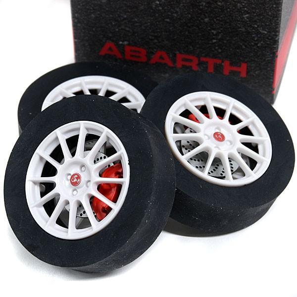 アバルト純正 タイヤ型消しゴム|itazatsu