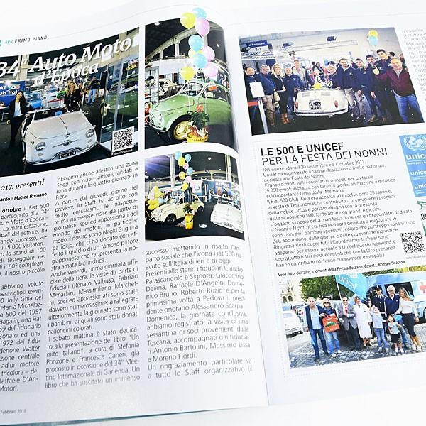 フィアット FIAT 500 CLUB ITALIA 会報誌 2018年No.1|itazatsu|04