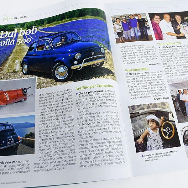 フィアット FIAT 500 CLUB ITALIA 会報誌 2018年No.1|itazatsu|06