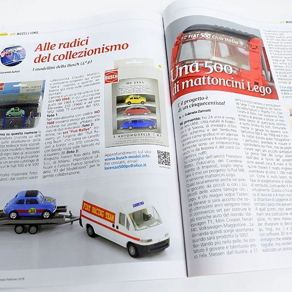 フィアット FIAT 500 CLUB ITALIA 会報誌 2018年No.1|itazatsu|08