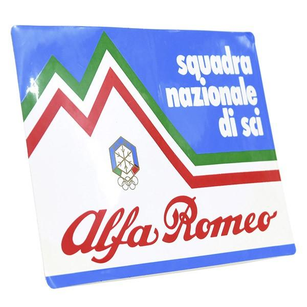 F.I.S.I.スキーチーム supported by Alfa Romeoステッカー itazatsu 02