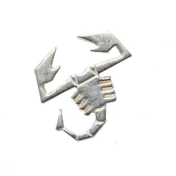 アバルト純正 Scorpioneシルバーピンバッジ(13mm)|itazatsu