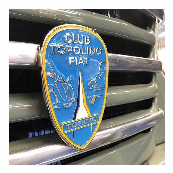 CLUB TOPOLINO FIAT TORINO エンブレム|itazatsu