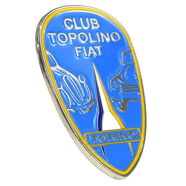 CLUB TOPOLINO FIAT TORINO エンブレム|itazatsu|03