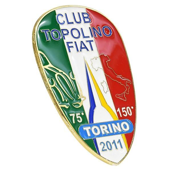 TOPOLINO 75周年&イタリア統一150周年メモリアルエンブレム by CLUB TOPOLINO FIAT TORINO|itazatsu|03