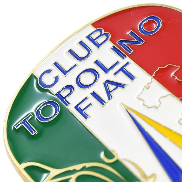 TOPOLINO 75周年&イタリア統一150周年メモリアルエンブレム by CLUB TOPOLINO FIAT TORINO|itazatsu|04