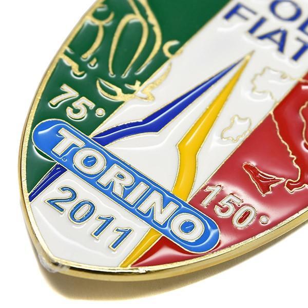 TOPOLINO 75周年&イタリア統一150周年メモリアルエンブレム by CLUB TOPOLINO FIAT TORINO|itazatsu|05