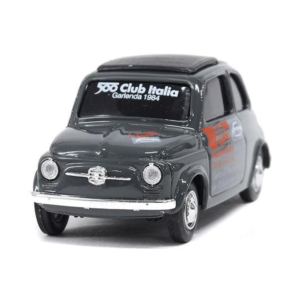 フィアット Nuova 500ミニチュアモデル(MUSEO 500ヴァージョン/グレー) by FIAT 500 CLUB ITALIA|itazatsu