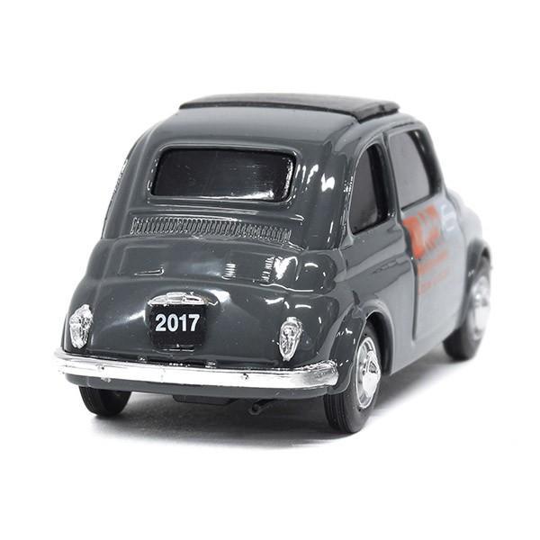 フィアット Nuova 500ミニチュアモデル(MUSEO 500ヴァージョン/グレー) by FIAT 500 CLUB ITALIA|itazatsu|02