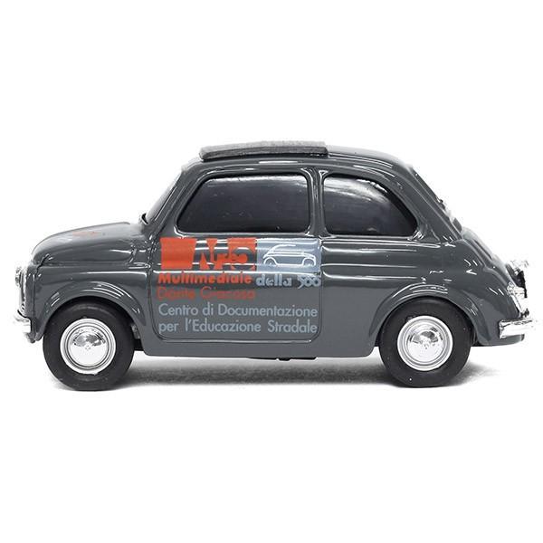 フィアット Nuova 500ミニチュアモデル(MUSEO 500ヴァージョン/グレー) by FIAT 500 CLUB ITALIA|itazatsu|03