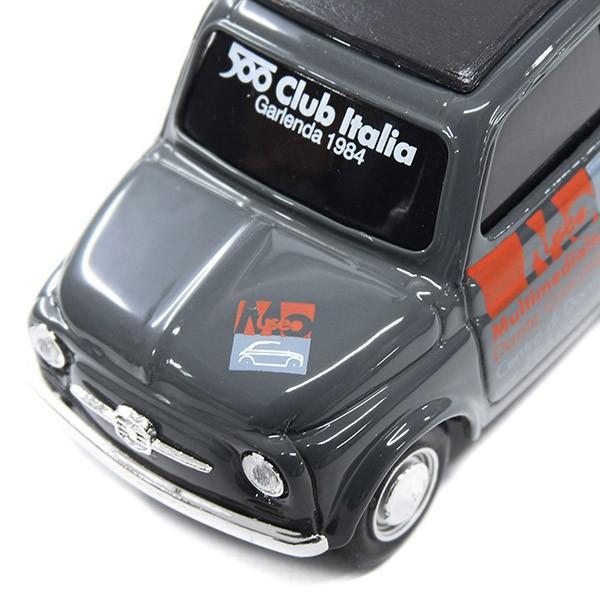 フィアット Nuova 500ミニチュアモデル(MUSEO 500ヴァージョン/グレー) by FIAT 500 CLUB ITALIA|itazatsu|04