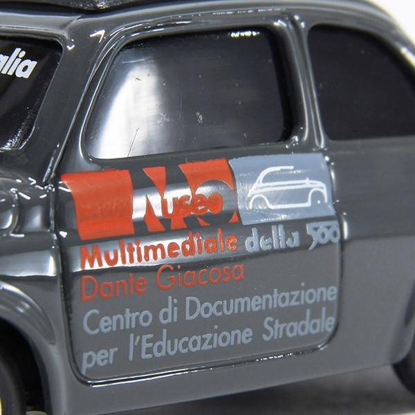 フィアット Nuova 500ミニチュアモデル(MUSEO 500ヴァージョン/グレー) by FIAT 500 CLUB ITALIA|itazatsu|05