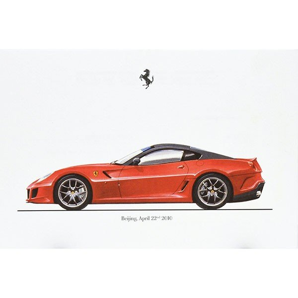 フェラーリ純正 599GTOデータカード itazatsu
