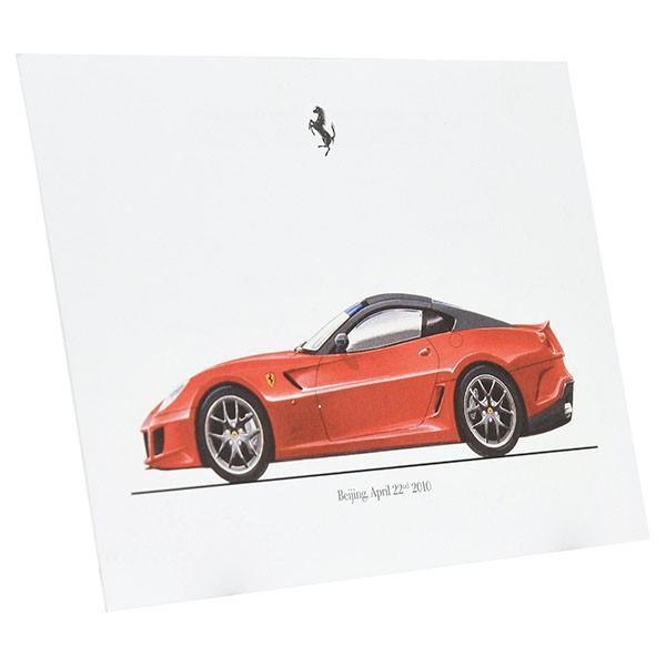 フェラーリ純正 599GTOデータカード itazatsu 02