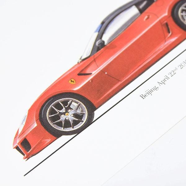 フェラーリ純正 599GTOデータカード itazatsu 03
