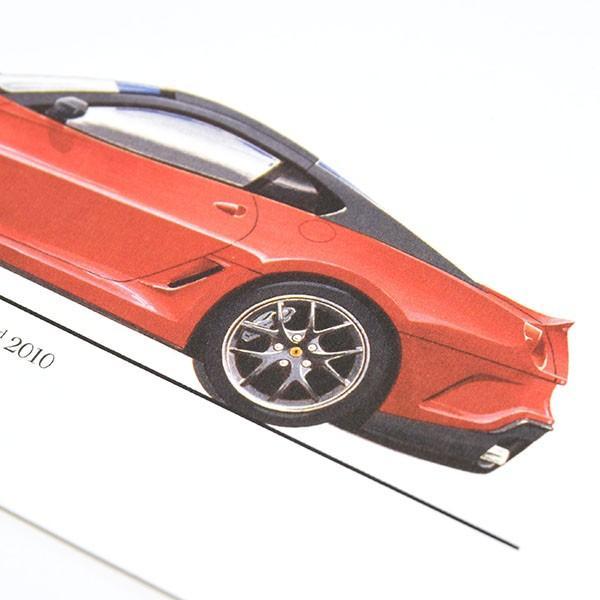 フェラーリ純正 599GTOデータカード itazatsu 04