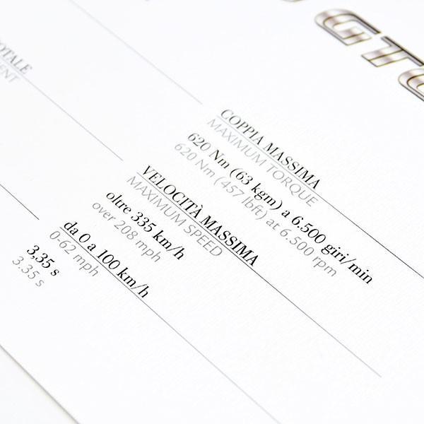 フェラーリ純正 599GTOデータカード itazatsu 06