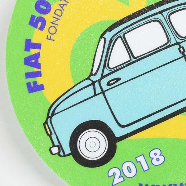 フィアット FIAT 500 CLUB ITALIA 2018ステッカー(裏貼りタイプ)|itazatsu|03