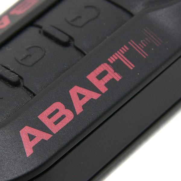 アバルト純正 キーカバー-プロトタイプモデル-(ブラック/レッドロゴ)|itazatsu|03