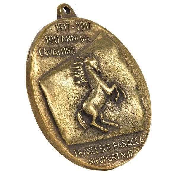 フェラーリ創立70周年&Cavallino by Francesco Baracca100周年メモリアルメダル|itazatsu|02