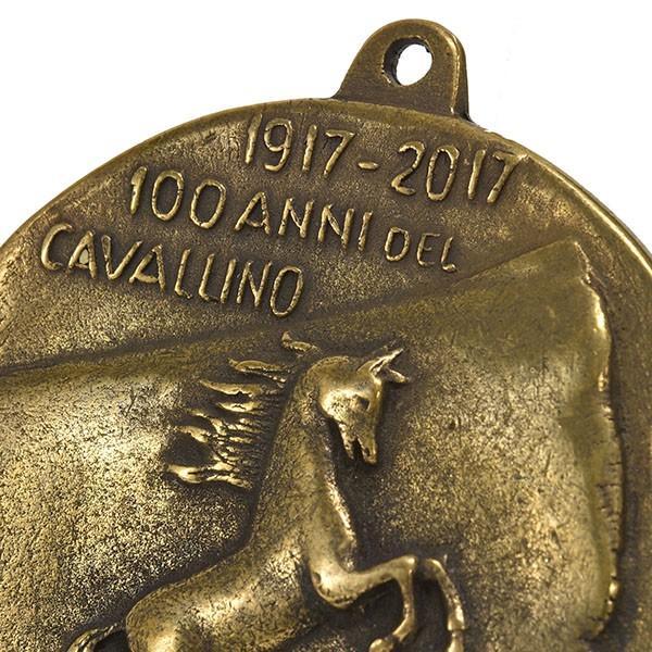 フェラーリ創立70周年&Cavallino by Francesco Baracca100周年メモリアルメダル|itazatsu|03