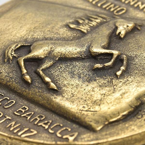 フェラーリ創立70周年&Cavallino by Francesco Baracca100周年メモリアルメダル|itazatsu|05