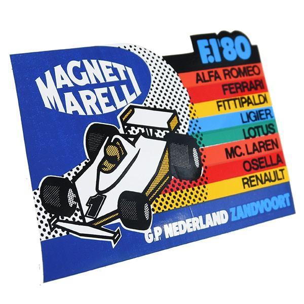MAGNETI MARELLI純正F1 1980年オランダGPステッカー|itazatsu|02