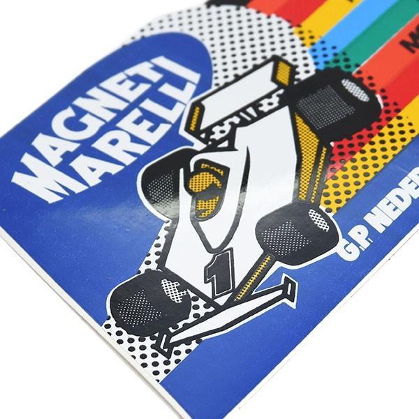 MAGNETI MARELLI純正F1 1980年オランダGPステッカー|itazatsu|03