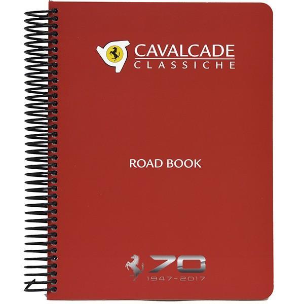 フェラーリ純正 70周年記年Cavalcade Classicheロードマップ&ツアーガイドブック|itazatsu|02