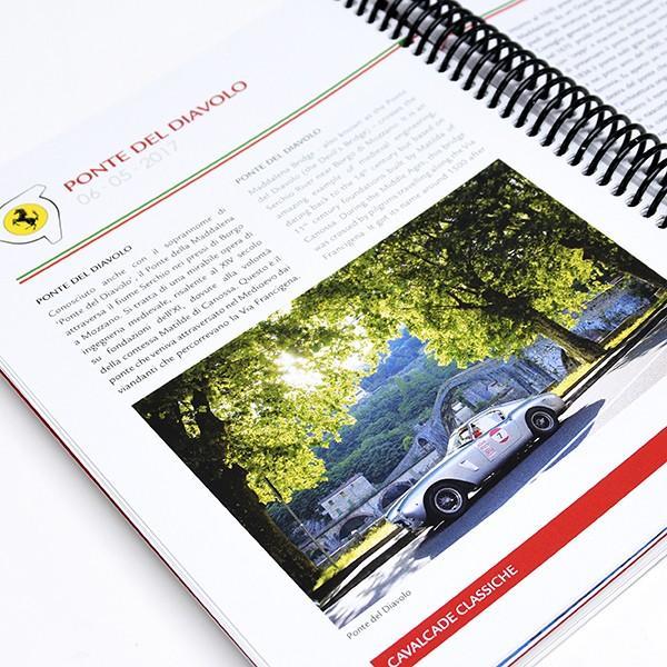 フェラーリ純正 70周年記年Cavalcade Classicheロードマップ&ツアーガイドブック|itazatsu|14