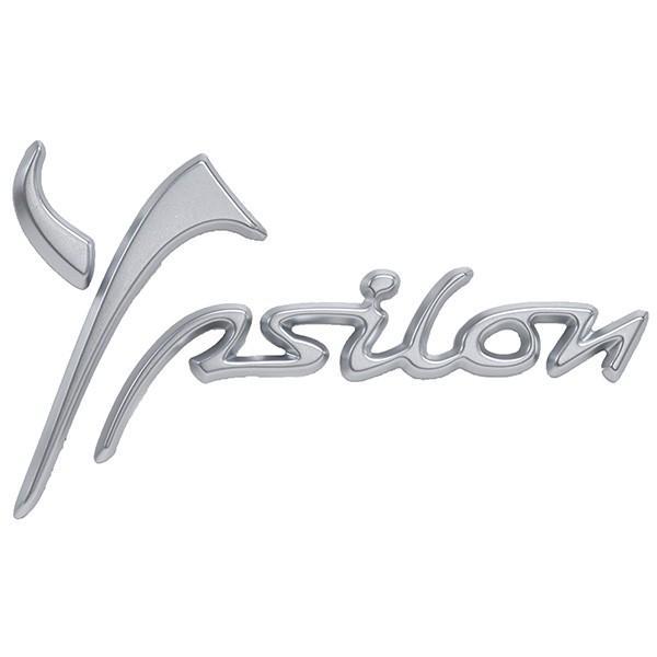 ランチア純正Ypsilon 3用ロゴエンブレム(マットシルバー)|itazatsu