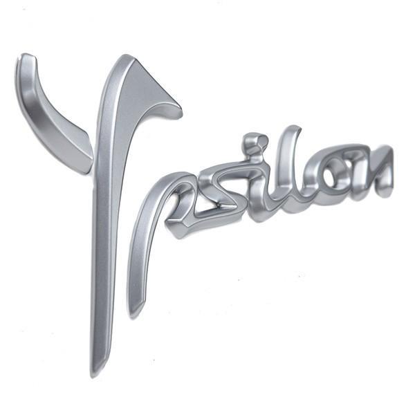 ランチア純正Ypsilon 3用ロゴエンブレム(マットシルバー)|itazatsu|02