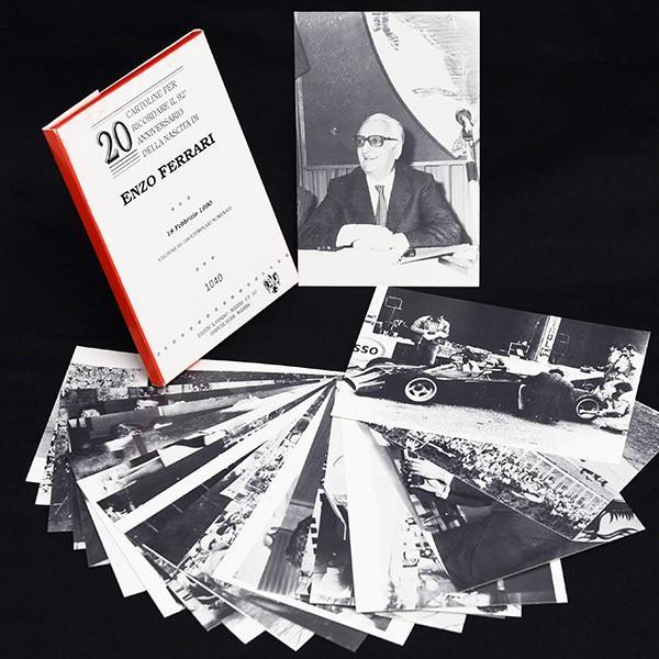フェラーリ Enzo Ferrari生誕92周年メモリアルポストカード(20枚セット)|itazatsu