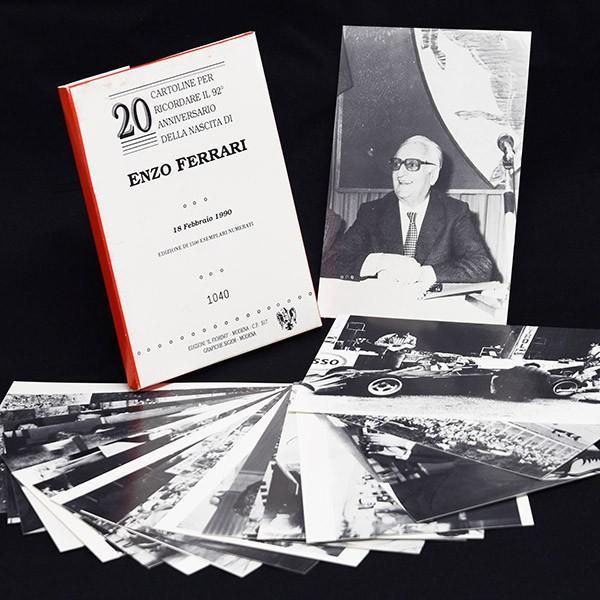 フェラーリ Enzo Ferrari生誕92周年メモリアルポストカード(20枚セット)|itazatsu|02