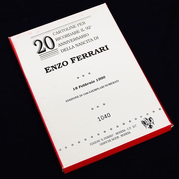 フェラーリ Enzo Ferrari生誕92周年メモリアルポストカード(20枚セット)|itazatsu|11