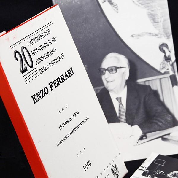 フェラーリ Enzo Ferrari生誕92周年メモリアルポストカード(20枚セット)|itazatsu|05