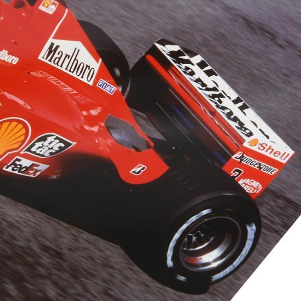 フェラーリ純正 Scuderia Ferrariオリジナル2000年WC記念クロームフォト ※シューマッハ直筆サイン入り|itazatsu|06