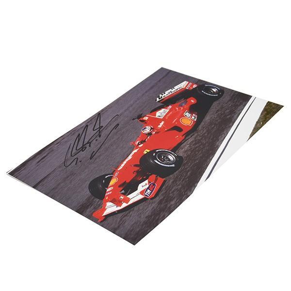 フェラーリ純正 Scuderia Ferrariオリジナル2000年WC記念クロームフォト ※シューマッハ直筆サイン入り|itazatsu|07